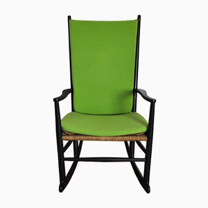 Mid-Century Scandinavian Modern Rocking Chair by Hans J. Wegner for FDB