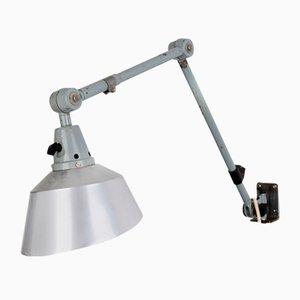 Mid-Century Industrial Wall Lamp by Curt Fischer for Midgard / Industriewerke Auma, 1960s