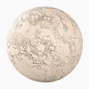 Grande Lampe de Bureau Moon en Verre Soufflé par Ludovic Clément d'Armont