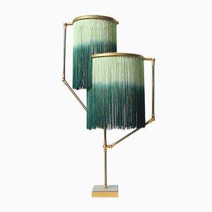 Lámpara de mesa Charme en verde de Sander Bottinga