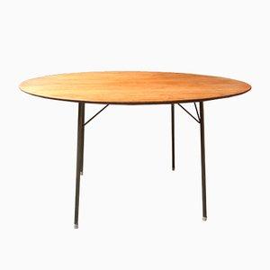 Table de Salle à Manger par Arne Jacobsen pour Fritz Hansen, années 50