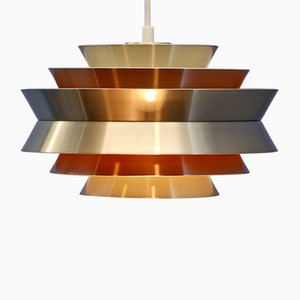 Swedish Trava Ceiling Lamp by Carl Thore for Granhaga Metallindustri, 1970s