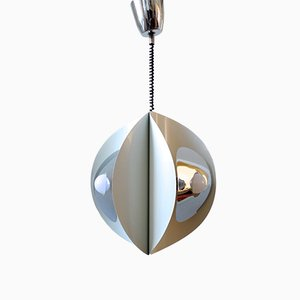 Space Age Ceiling Lamp from Brevettato, 1970s