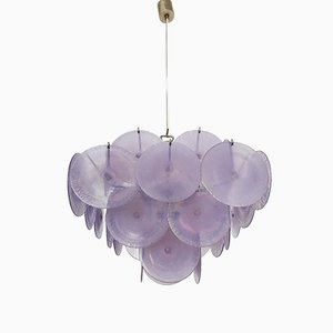 Murano Glass Chandelier by Gino Vistosi for Vistosi, 1960s