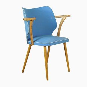 Chaise de Bureau en Hêtre, années 60