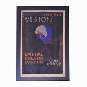 Affiche de Film Vision, années 30