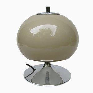 Lámpara de mesa Mid-Century con base trompeta