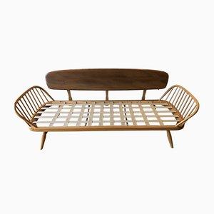 Sofá cama vintage de Lucian Ercolani para Ercol, años 70