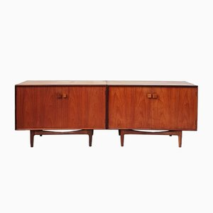 Mid-Century Danish Sideboards by Ib Kofod Larsen for G-Plan, 1960s, Set of 2