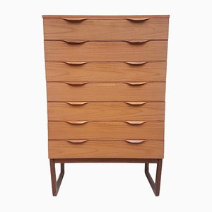 Mid-Century Danish Tallboy from Europa, 1970s