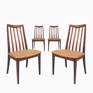 Mid-Century Danish Teak Dining Chairs from G-Plan, 1970s, Set of 4