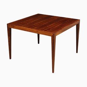 Table Basse en Palissandre par Severin Hansen pour Haslev, années 60
