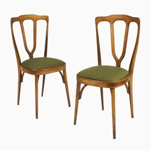 Mid-Century Italian Dining Chairs, Set of 2