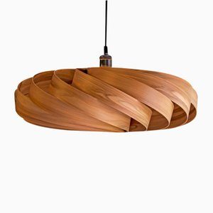 Large Walnut Andromeda Pendant Lamp by Manuel Döpper