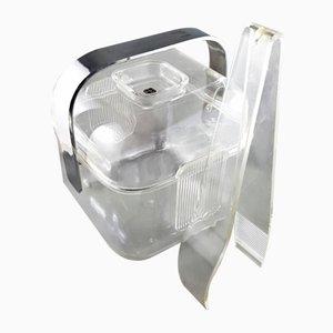 Cubitera de plástico de Guzzini, años 70