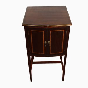 Small Inlaid Mahogany Cabinet, 1920s