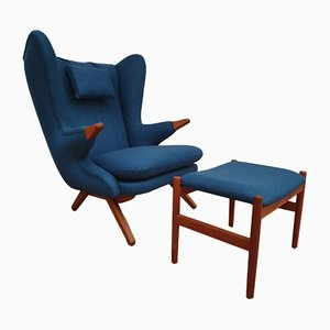 Danish Teddy Bear Lounge Chair by Svend Skipper, 1960s