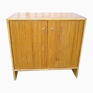 Vintage Bamboo Dresser, 1950s