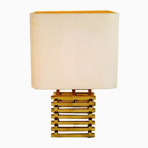 Italian Table Lamp by Romeo Rega, 1970s