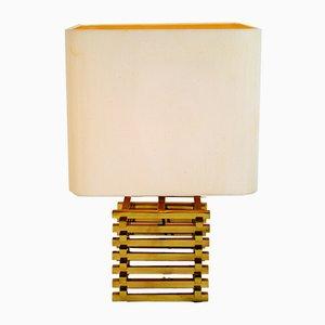 Lámpara de mesa italiana de Romeo Rega, años 70