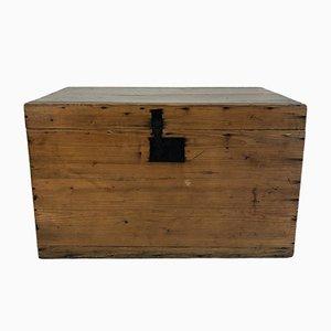 Baúl de madera, años 50