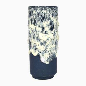 Mid-Century Lava Keramikvase von Fohr Keramik, 1960er