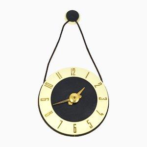 Orologio da parete vintage, anni '50