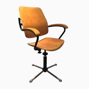 Chaise de Bureau à Bascule Vintage