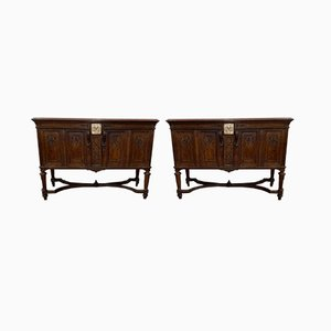Antique Console Tables, Set of 2