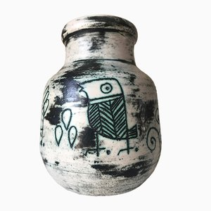Mid-Century Ceramic Vase by Jacques Blin, 1950s