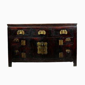 Antikes chinesisches Sideboard aus Ulmenholz