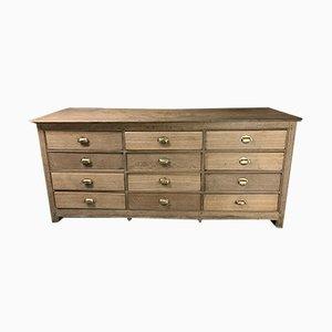 Vintage Oak Dresser, 1940s