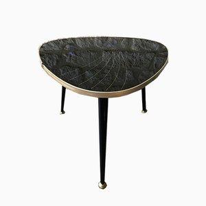 Tavolino da caffè Mid-Century in formica e plexiglas