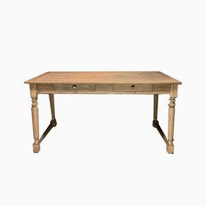 Vintage Oak Drapers Table, 1940s