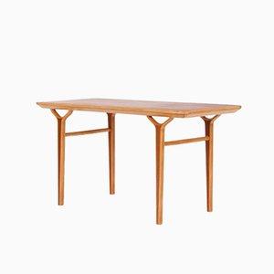 Tavolino da caffè in teak e mogano di Peter Hvidt & Orla Mølgaard-Nielsen per Fritz Hansen, Danimarca, anni '60
