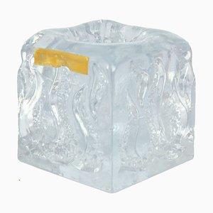 Candelabro de cristal de Ingrid Glasshutte, años 60
