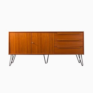 German Teak Veneer Sideboard from WK Möbel, 1960s