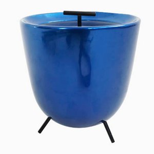 Vintage Italian Ice Bucket by Bruno Munari for Zani & Zani, 1950s