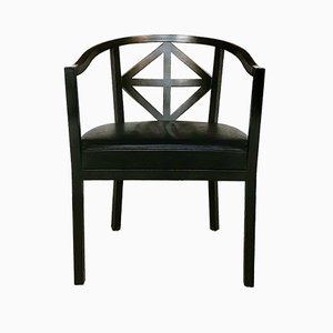 Vintage Villa Ast Chair by Josef Hoffmann for Wittmann, 1980s
