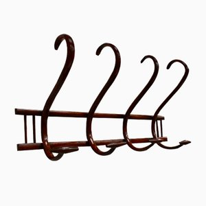 Antique Bentwood Coat Rack by Thonet