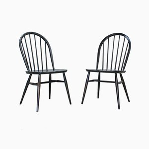 Windsor Dining Chairs by Lucian Ercolani for Ercol, 1970s, Set of 2