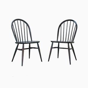 Windsor Esszimmerstühle von Lucian Ercolani für Ercol, 1970er, 2er Set