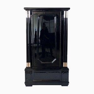 Mueble lacado en negro, años 20