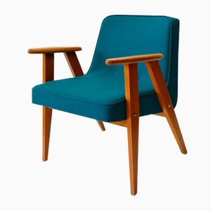 Vintage Model 366 Armchair by Józef Chierowski, 1960s