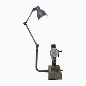 Lámpara de pie de Alemania Oriental industrial Mid-Century
