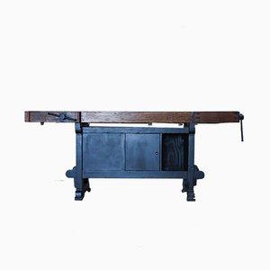 Mesa de carpintero portuguesa, años 50