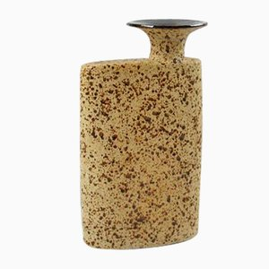 Vintage Ceramic Block Vase, 1970s