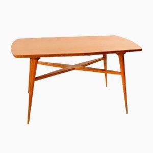 Tavolino da caffè Mid-Century in faggio, anni '60