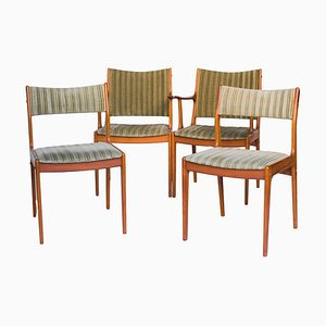 Mid-Century UM85 Dining Chairs by Johannes Andersen for Uldum Møbelfabrik, Set of 4