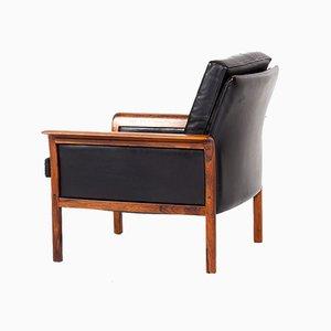 Mid-Century Sessel mit Gestell aus Palisander im skandinavischen Stil von Fredrik A. Kayser für Vatne Møbler, 1960er